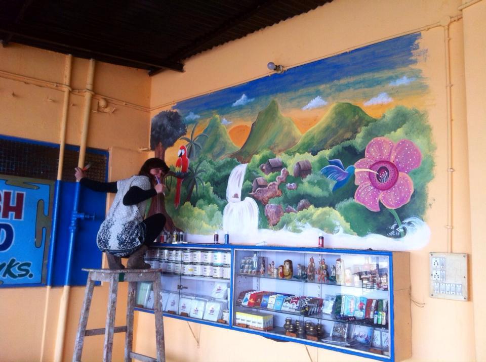 Diario di una pittrice in India